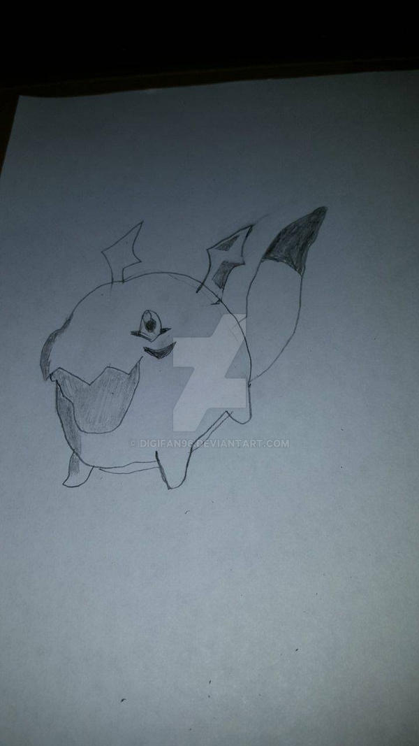 Gigimon! (Sketch)