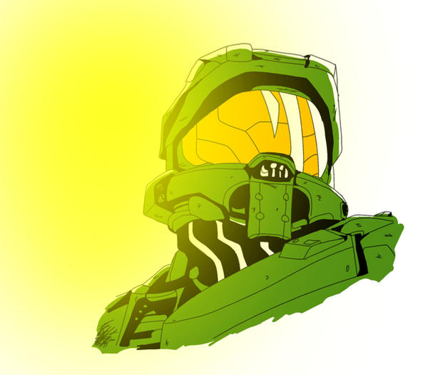 The Master Chief by sonPauten