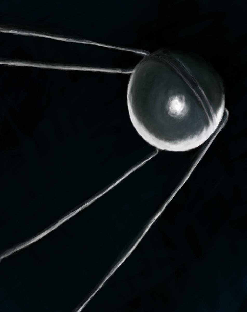 Sputnik 1 - Beep Beep by TrillianAstra
