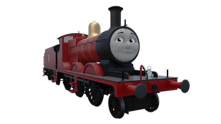 James the Red Engine by TheChairmaster