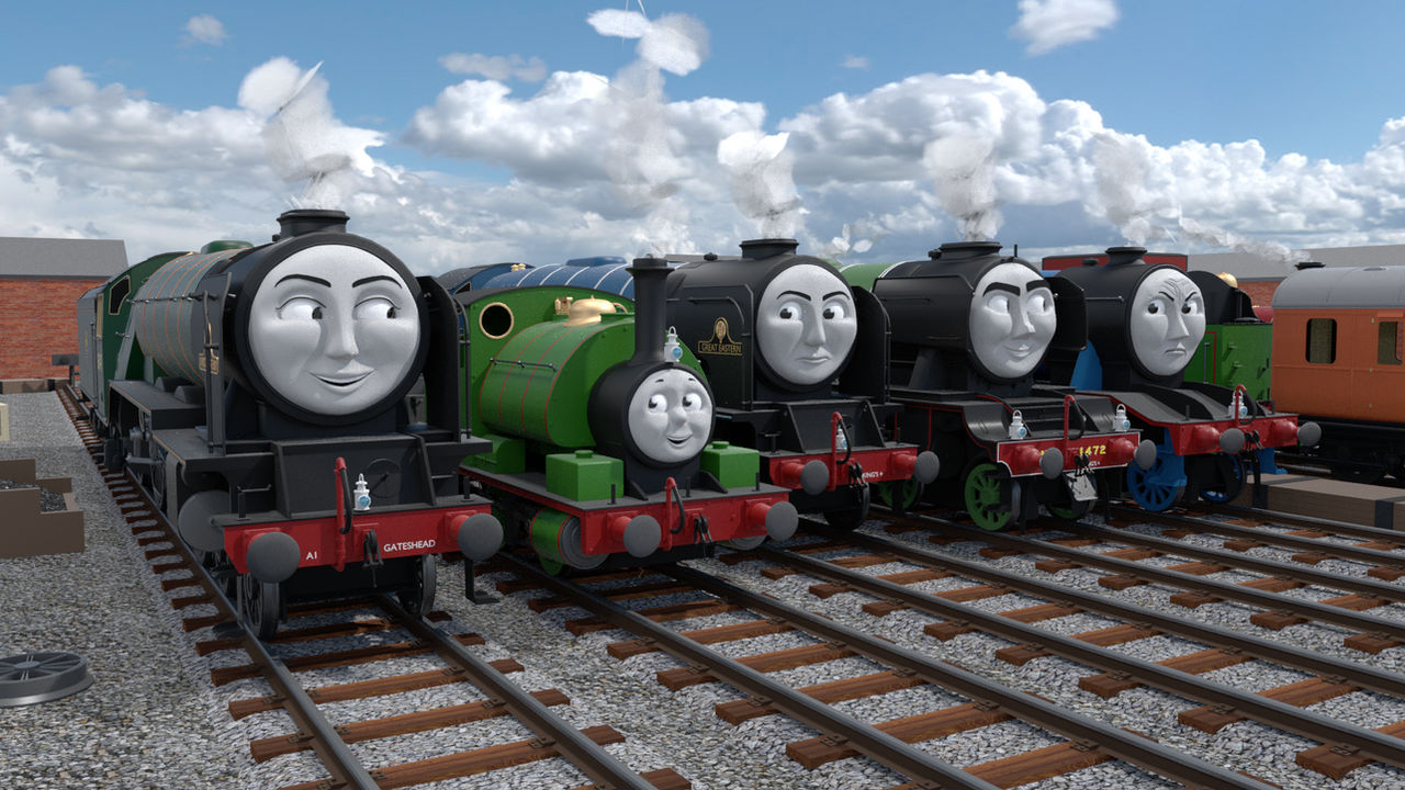 Percy and the Pacifics