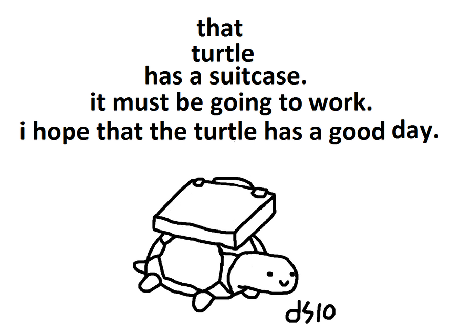 working class turtle by TwoDeeStuff