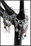 Water fairy earrings