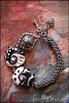 Glass-chain bracelet 1