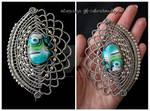 Mermaid Scales brooch-pin