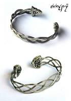 Silver Braids by Faeriedivine