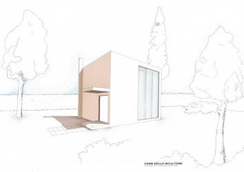casa dello scultore-le corbu by BreezeStorm