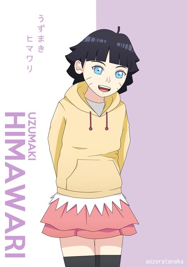 Uzumaki Himawari by AozoraTanaka
