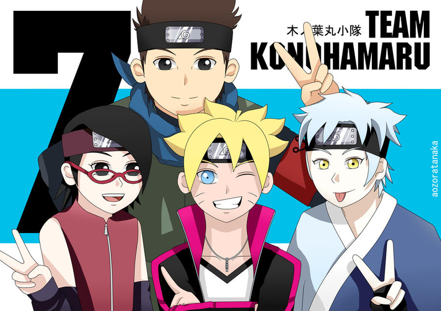 Team Konohamaru by AozoraTanaka