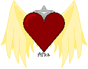Gold Winged Heart by MikaVKlover