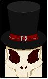 Hatter Skull by MikaVKlover