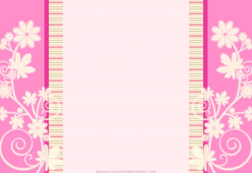 Pink n Swirly Flower