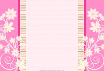 Pink n Swirly Flower by MikaVKlover