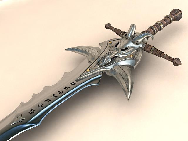 RE: Carrying swords n' shit in public Frostmourne_by_furdock