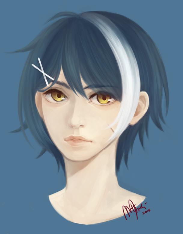I tried semi-realism by NayukiMarcia