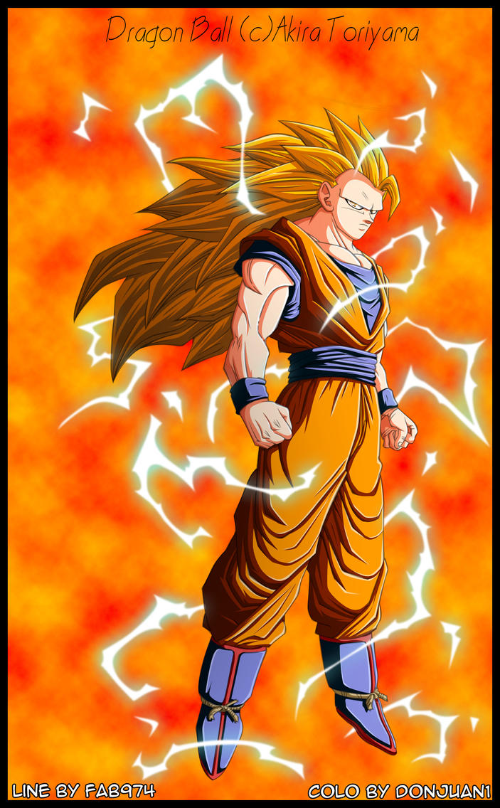 Sangoku super saiyan 3 by donjuan1 on deviantart - Sangoku super sayen 6 ...