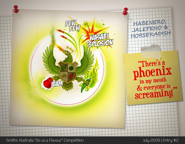 Flavour 'splosion by psychadello