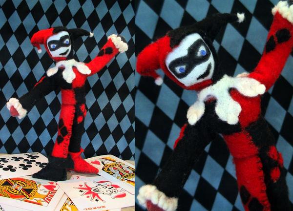 Harley Quinn Doll by MichellePrebich