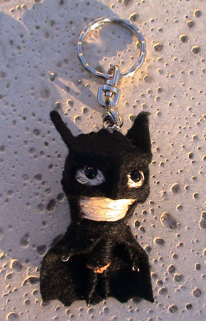 Batman String Dolly by MichellePrebich