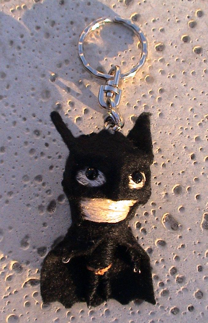 Batman String Dolly by MichellePrebich