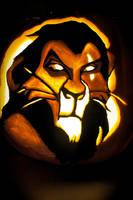Scar Pumpkin by MichellePrebich