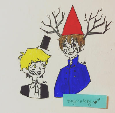 Gravity Falls Over The Garden Wall By Thymekey On Deviantart