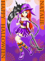 EBF Natalie the witch by SunnyTheSunFlower