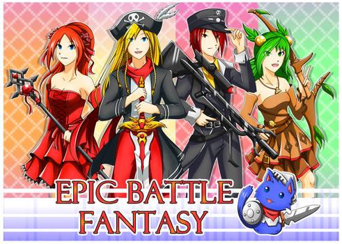 Epic Battle Fantasy! by SunnyTheSunFlower