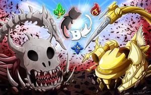 Happy 10 years anniversary of Epic Battle Fantasy!