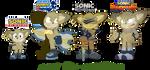 Bolt: Sonic designs by JaredSteeleType