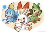 Pokemon Sword and Sheild: Starters