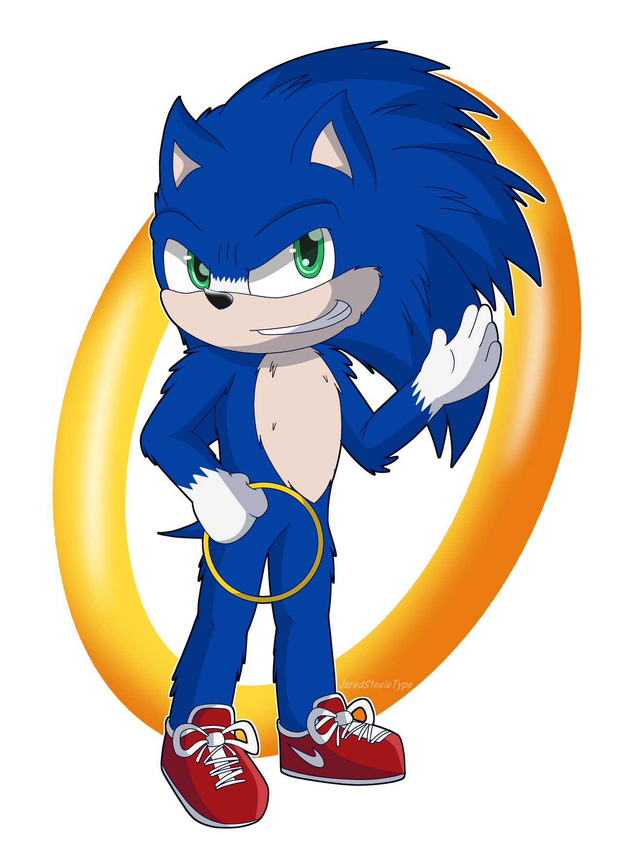 Fanart 2019 Movie Sonic By Jaredsteeletype On Deviantart