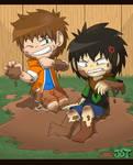 Gift: Muddy Max and Kyoya