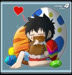 Ryouta's easter eggs love