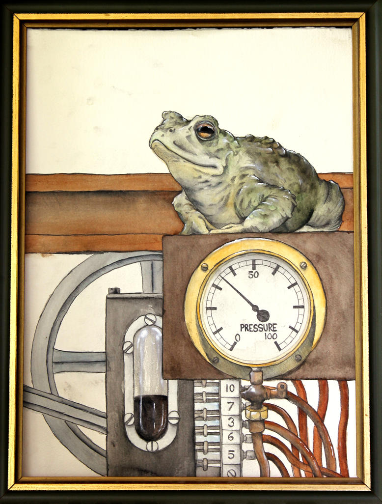 Frog in the Machine by Krashnicoff