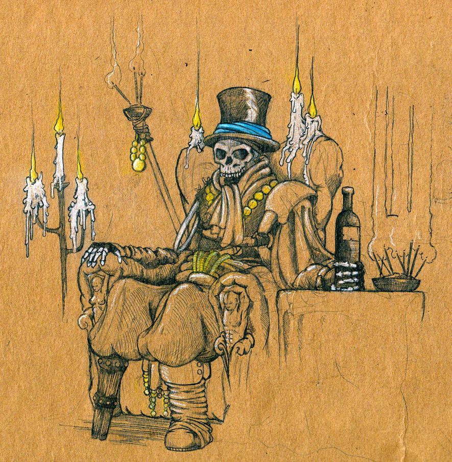 The old Robber Baron by Krashnicoff
