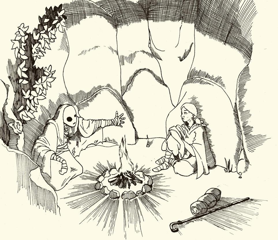 Comic book sketch by Krashnicoff