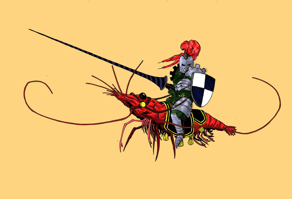 Shrimp knight by Krashnicoff