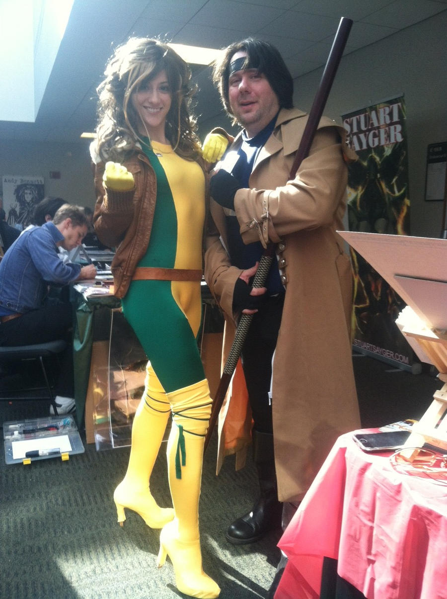Gambit and Rogue cosplay by MarkFanboy Gambit and Rogue cosplay by MarkFanboy  sc 1 st  MarkFanboy - DeviantArt & Gambit and Rogue cosplay by MarkFanboy on DeviantArt