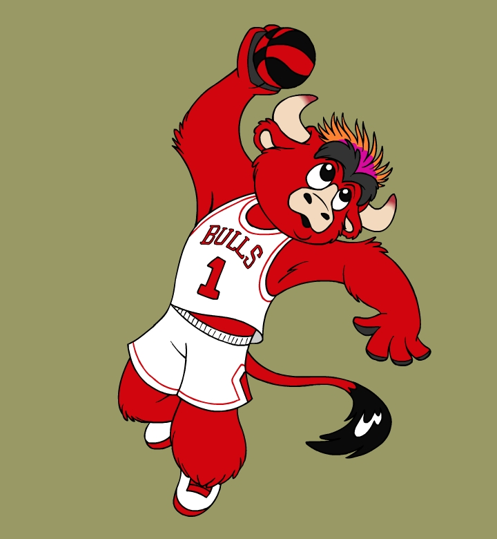 chicago bulls design by cindycrowell