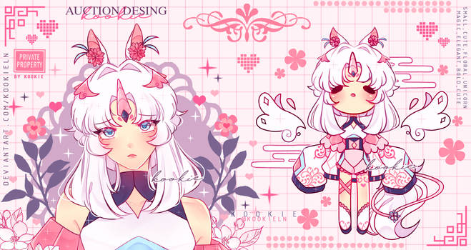 [ADOPTABLE CLOSED]  Flower unicorn [PPG]