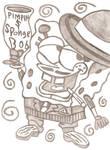 SpongeBob Pimpin Gansta Drunk