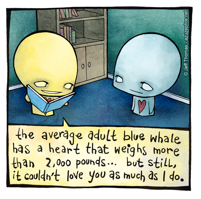Blue Whales by azuzephre