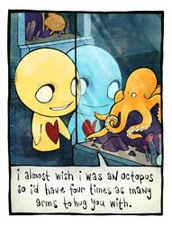 Octopus by azuzephre
