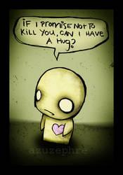 Hug Me. by azuzephre