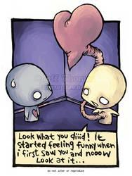 035 Feeling Funny by azuzephre