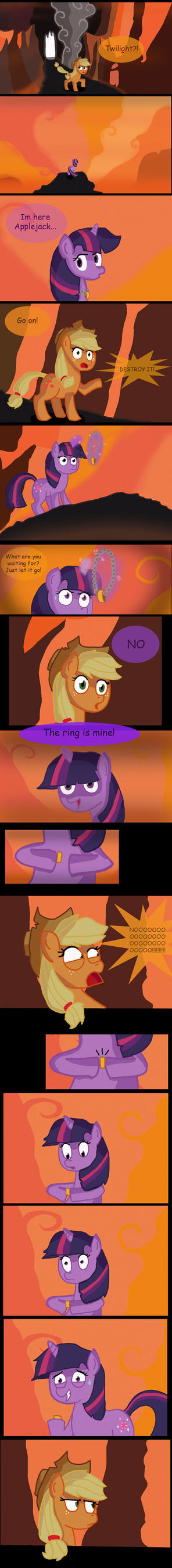 The Lord of the Ponies: The crack of doom by MrFulp