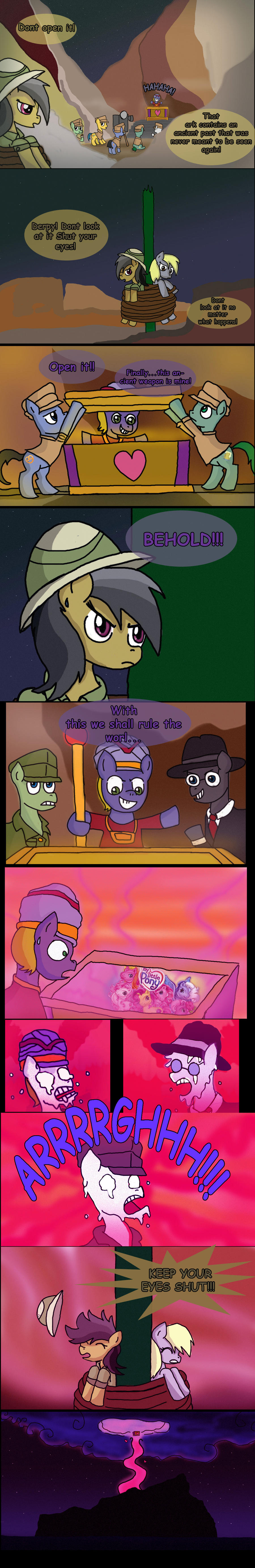 Daring Do and the Ark of the Pony by MrFulp