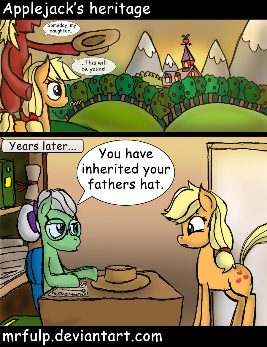 Applejack's Heritage by MrFulp