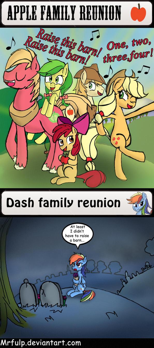 Pony family reunions by MrFulp